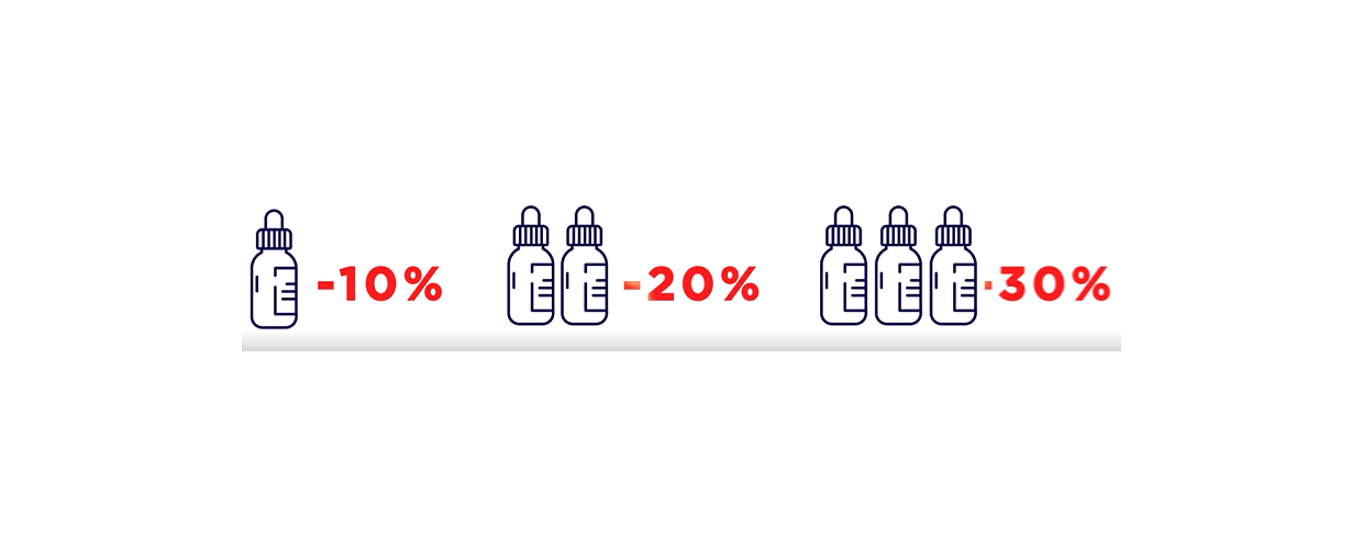 CBD olie - køb mere spar mere